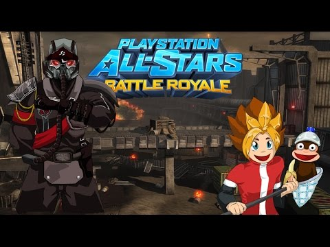 PS All-Stars Battle Royale History - Invasion (stage)