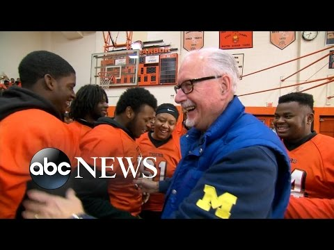 Inspiring Football Coach and Team Get Epic Surprise