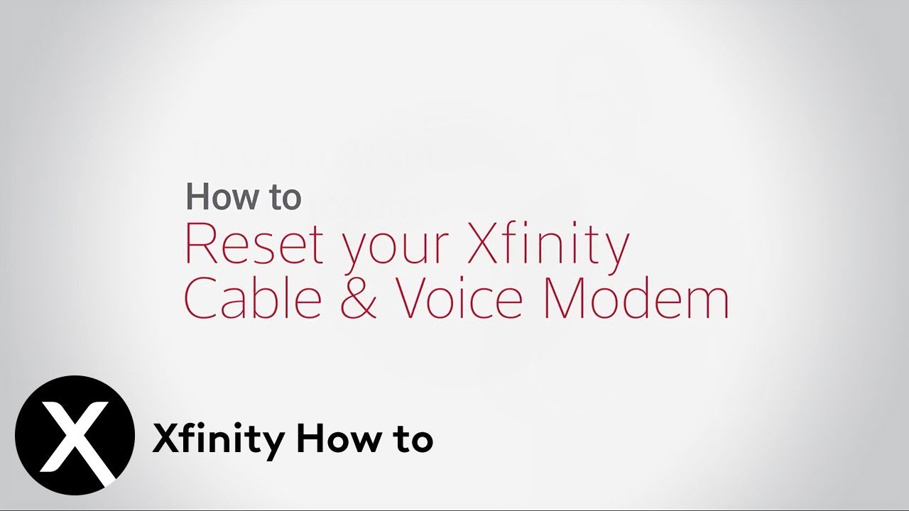 How To Restart Your Xfinity Gateway Xfinity
