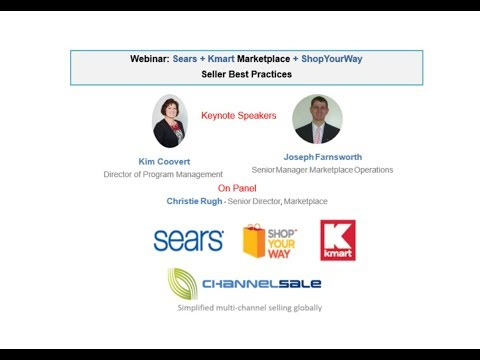 Webinar Sears + Kmart + ShopYourWay Seller Best Practices