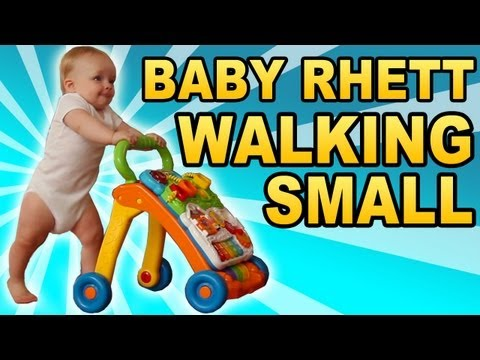 Baby's First Steps (with A Push Toy!)