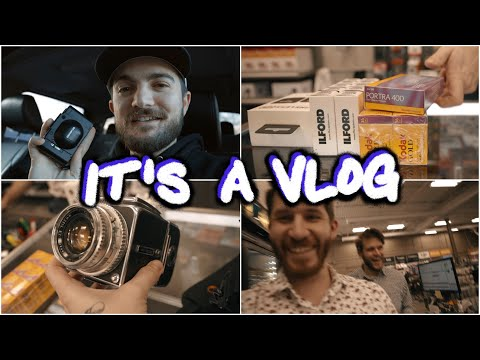 Buying Film And Point & Shoots | It's A Vlog