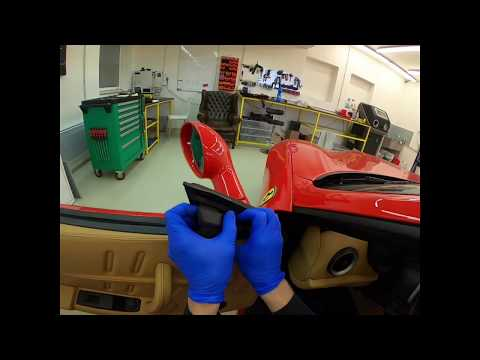 Ferrari 575 Maranello And Superamerica - Door Panel Removal