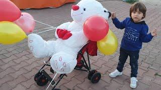 Fatih Selim Lunaparka gitti Dönme dolaba bindi uçan balon'umuz aşağı uçtu kaçtı