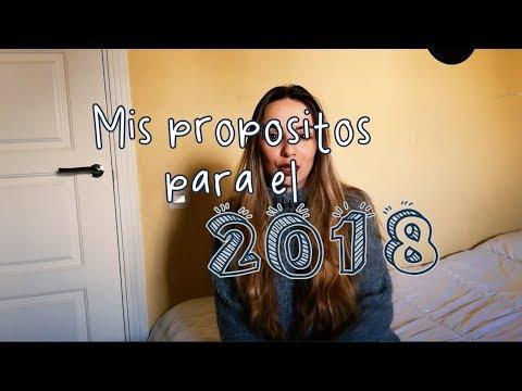 MIS PROPOSITOS DEL 2018! - CELIA MANZANO