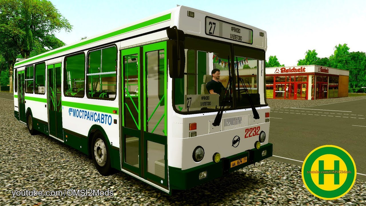 OMSI 2 - Horizon 13 - Mach36 Route - Renault Bus France by