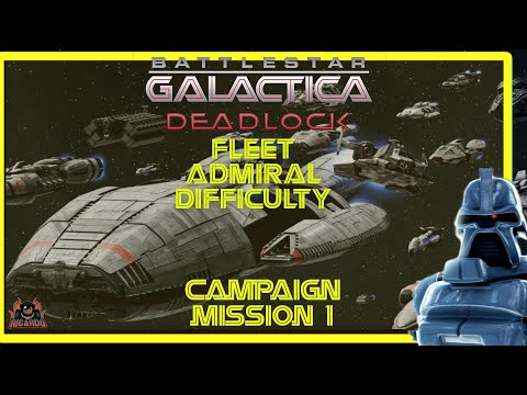 Battlestar Galactica Deadlock Ghost Fleet Offensive DLC Fleet Admiral Difficulty