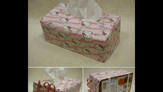 清秀佳人布坊 - 手作教學 - 簡易面紙盒套的作法