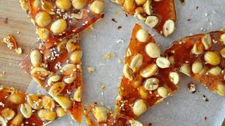 Peanut And Sesame Brittle | The Dumpling Sisters