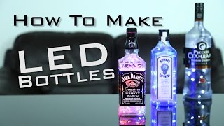 DIY: HOW TO MAKE LIGHT UP BOTTLES | Super Simple
