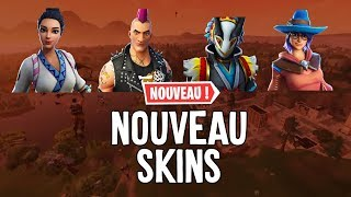 PRESENTATION NEW SKINS 6.30 FORTNITE BATTLE ROYALE!!