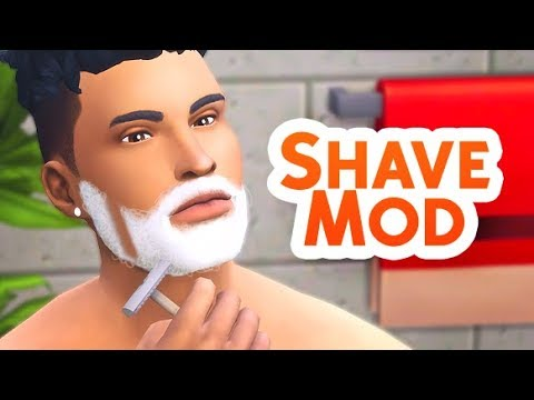 SHAVE MOD! | THE SIMS 4 // MOD OVERVIEW