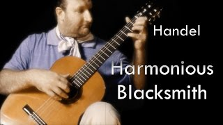 "Theme from ""The Harmonious Blacksmith"" by Handel (Classical Guitar Solo)"