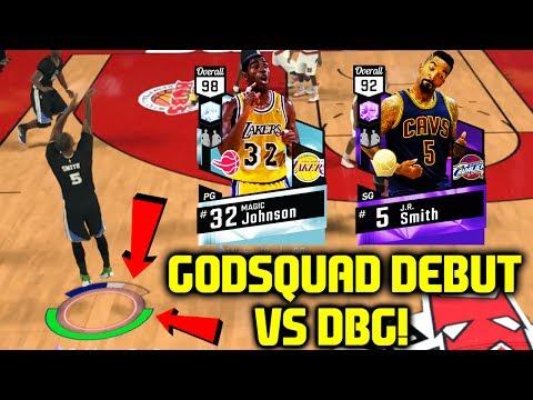 DIAMOND MAGIC AND JR SMITH CARRY GODSQUAD VS DBG! NBA 2K17 MYTEAM GAMEPLAY