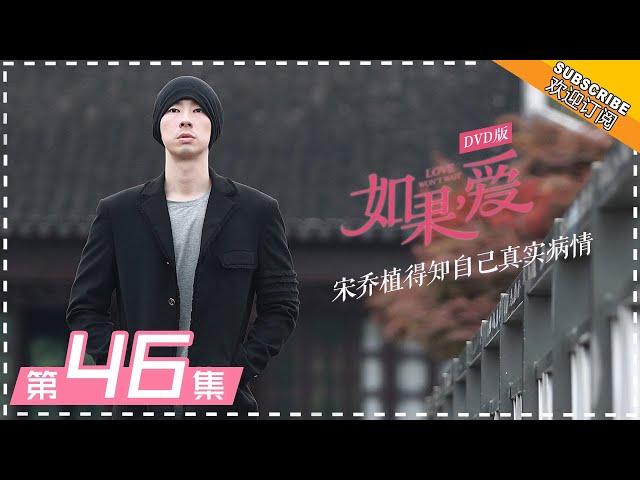 DVD版 |《如果,爱》第46集:宋乔植得知自己真实病情 Love Won't Wait EP46【芒果TV独播剧场】