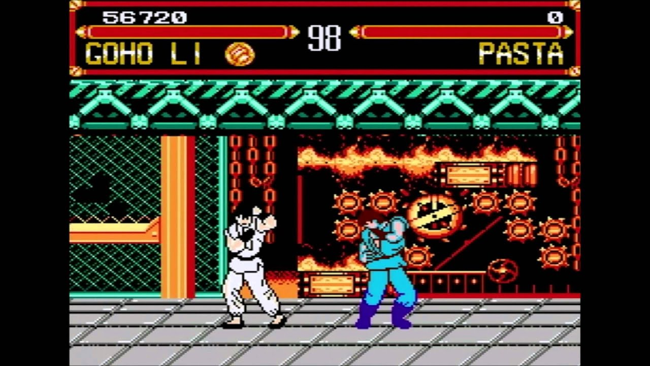 Kuaida Chuanshuo Street Fighter Iv Nes Famicom Bootleg