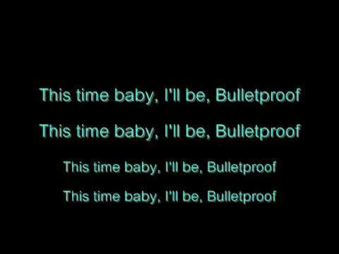 La Roux - Bulletproof Lyrics