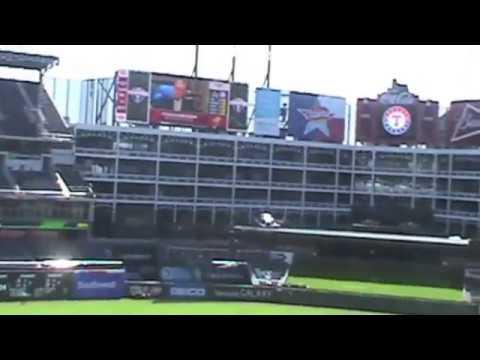 Texas Rangers/Globe Life Park tour