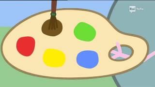 -peppa pig dipingere
