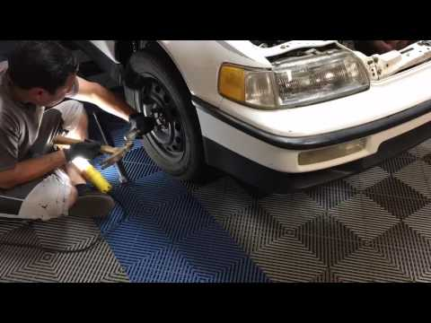 Crx engine Removal