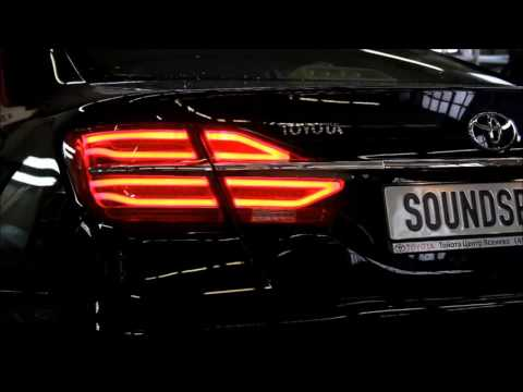 видео: фонари red camry v55