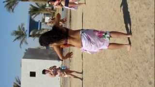 belly dance on the beach in hurgada by ELMIRA ISMAILOVA