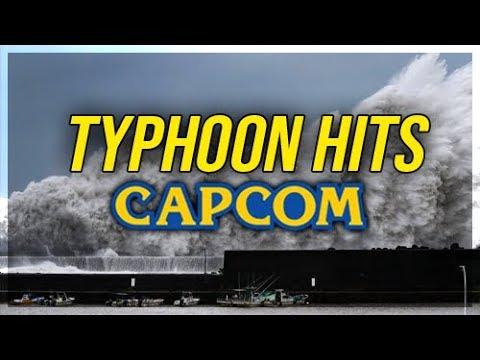 Capcom Headquarters Hit By Typhoon - Staff Safe