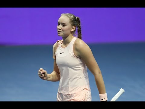 2018 St. Petersburg Open Second Round | Elena Rybakina vs Caroline Garcia | WTA Highlights