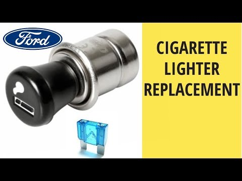 Broken Car Cigarette Lighter Replacement Fuses How To Do Ford Fiesta 1 2 2010