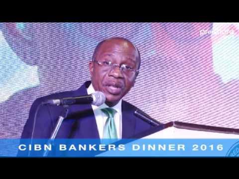 Godwin Emefiele Speech: CIBN Bankers Dinner 2016 prt1