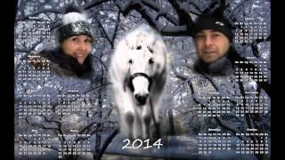 видео календари на заказ