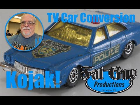 A Diecast TV Car Conversion - Kojak!