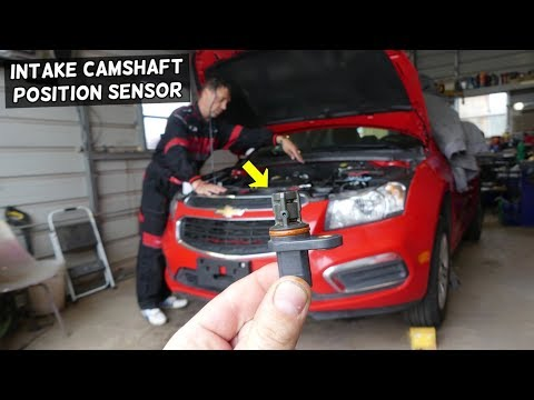 Intake Camshaft Position Sensor Replacement Chevrolet Cruze Chevy