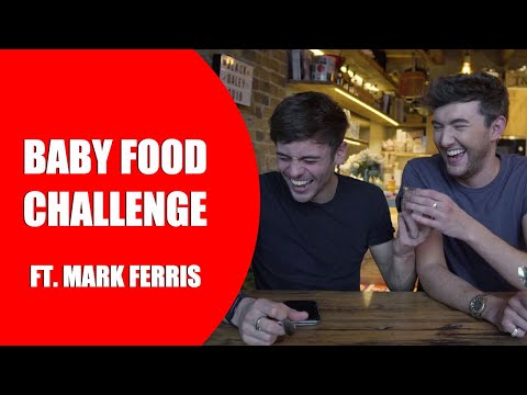 BABY FOOD TASTING CHALLENGE! Ft. Mark Ferris I Tom Daley