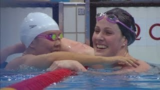 Missy Franklin Win
