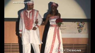 TEKAY DESIGNS AT THE RICE AFRICAN STUDENT ASSOCIATION RASA FASHION SHOW Thumbnail