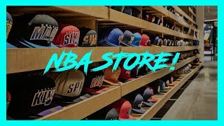 NBA STORE à New York City - Le temple du basket