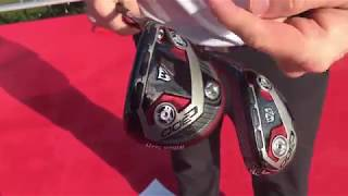 Wilson Staff C300 Driver and Fairway Woods Preview - 2018 PGA Merchandise Show Demo Day Brad Syslo