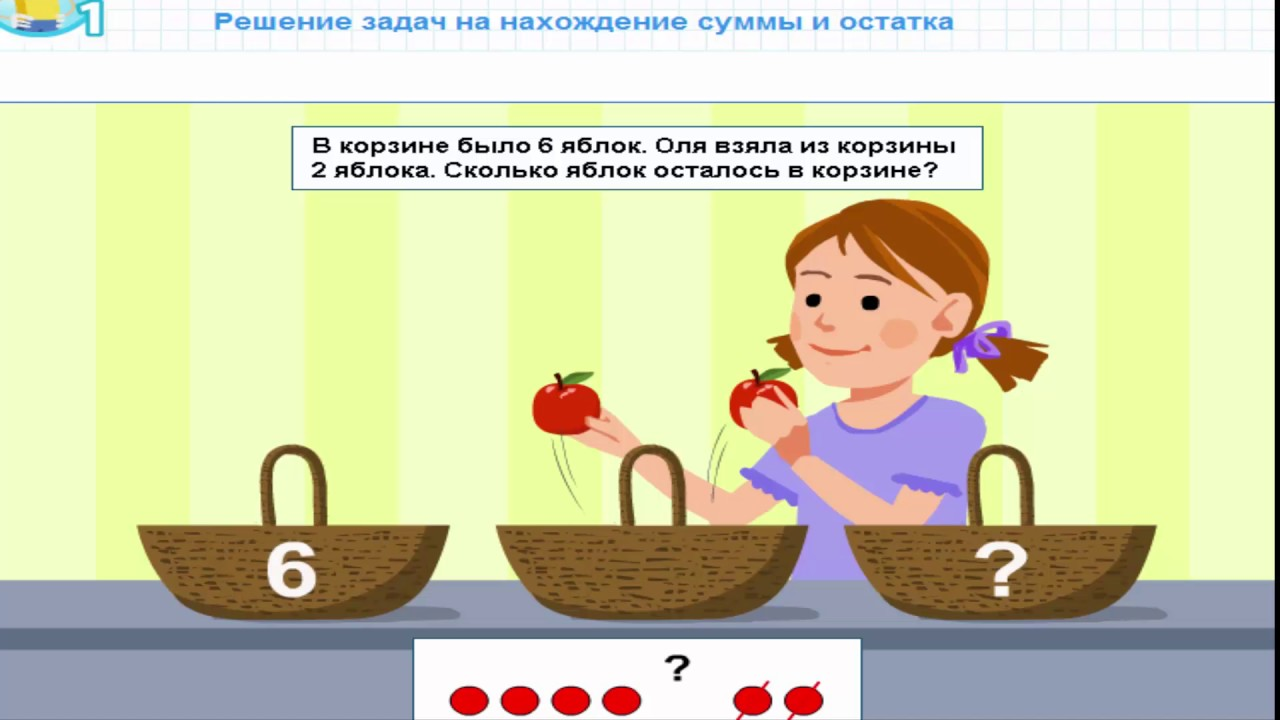 Уроки по математике в 1 классе по казахстану