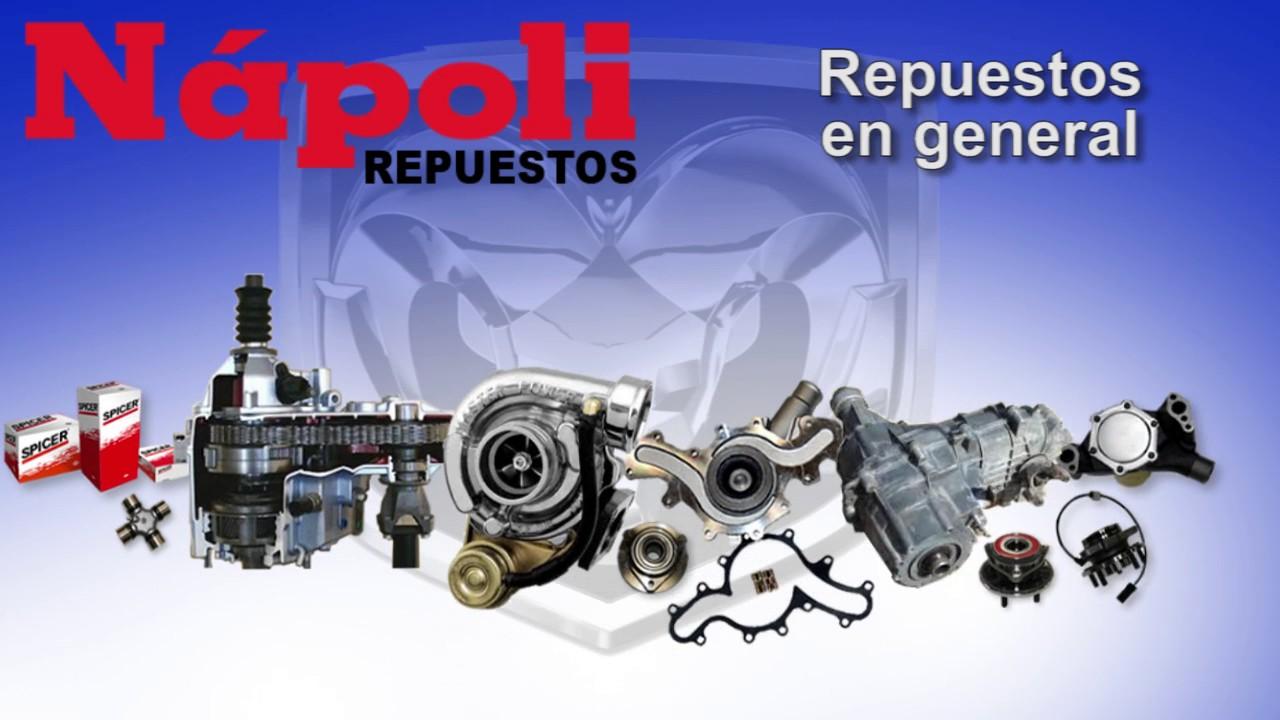 Napoli repuestos repuestos y accesorios para autos for Repuestos y accesorios para toldos