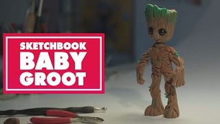 Sketchbook: Baby Groot | Oh My Disney