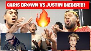 CHRIS BROWN VS JUSTIN BIEBER PLAYLIST 🔥🕺🏽🎤 | KEVINKEV 🚶🏽
