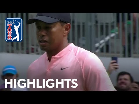 Tiger Woods Round 2 highlights from WGC-Mexico 2019