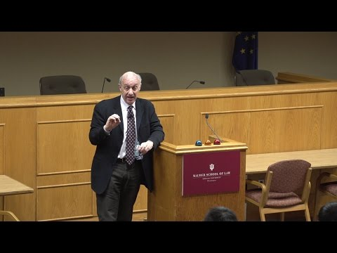 "JEROME HALL ENDOWED LECTURE- Samuel Issacharoff: ""The Emerging Rule of Reason in Voting Rights Law"""