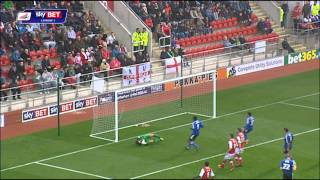 Rotherham United vs Swindon Town - League One 2013/14 Highlights