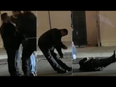 Bill Handel - Three Suspects Sought After Video Shows Fight Knocking Man Unconscious