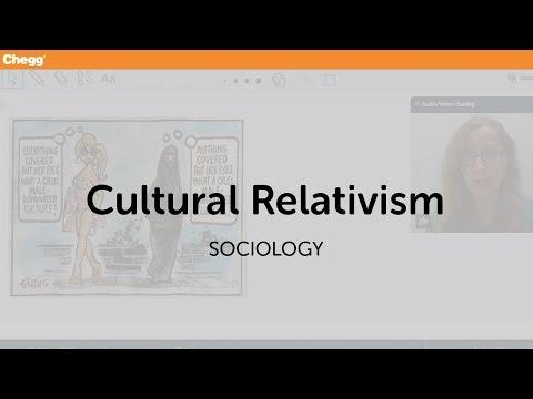 Cultural Relativism   Sociology   Chegg Tutors