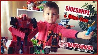 Сайдсвайп и миникон Виндстрайк Трансформеры роботы под прикрытием TRANSFORMERS ROBOTS IN DISGUISE!