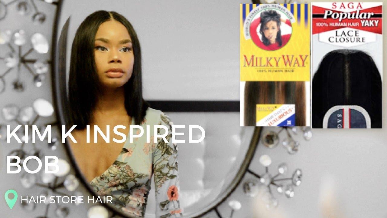 Best Hair Milky Way Remy Saga Por Lace Closure