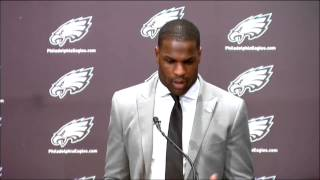 Demarco Murray's First News Conference in Philadelphia